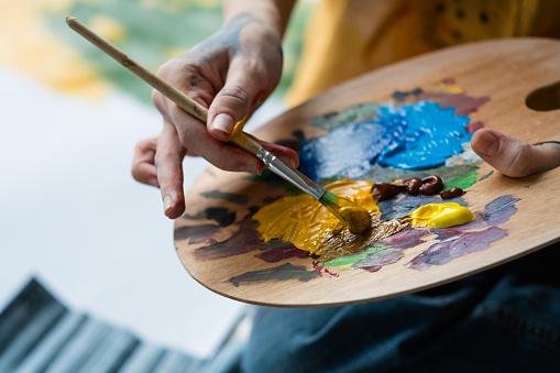Absolventi výtvarného oboru - školní rok 2021