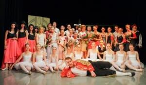 Taneční obor - školní rok 2015/2016